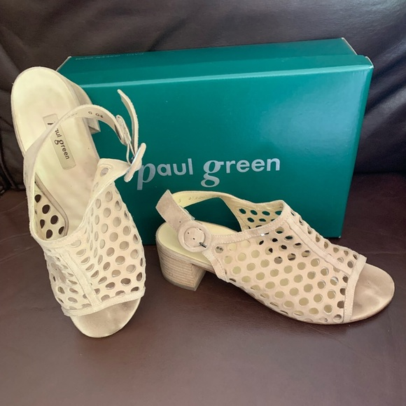 Paul Green Shoes - Paul Green / Lois Suede Sandals